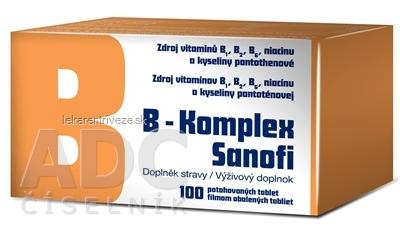B-Komplex Sanofi tbl flm 1x100 ks