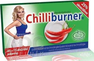 Chilliburner AKCIA 25% zľava tbl 45+15 zadarmo (60 ks)