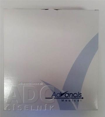 ADVAZORB krytie na rany hydrofilné penové 12,5x12,5 cm, 1x10 ks