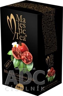 Biogena Majestic Tea Biely čaj & Granátové jablko čaj 20x1,5 g (30 g)