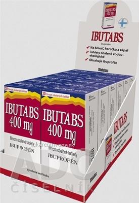 IBUTABS 400 mg DISPLEJ tbl flm (ŠÚKL Kód: 30473) 12x30 ks