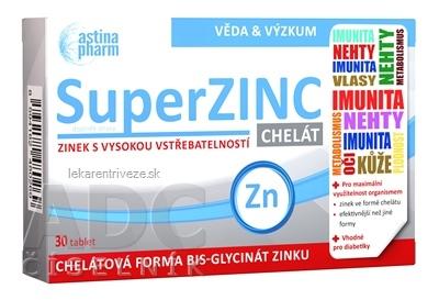 Astina SuperZINC CHELÁT tbl 1x30 ks