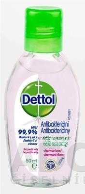 Dettol antibakteriálny gél na ruky s rumančekom 1x50 ml
