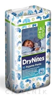 HUGGIES DRY NITES MEDIUM PRE CHLAPCOV (4-7 rokov) plienkové nohavičky 17-30 kg 1x10 ks