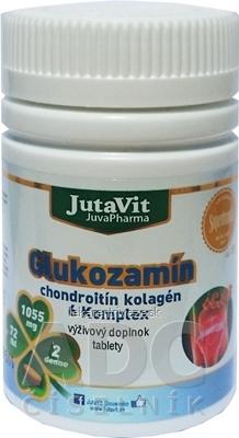 JutaVit Glukozamín chondroitín kolagén 6 Komplex tbl 1x72 ks