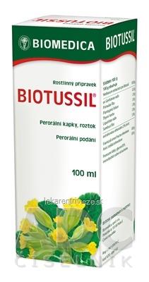 BIOTUSSIL gtt por (liek.skl.hnedá) 1x100 ml