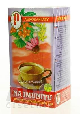 AGROKARPATY NA IMUNITU, ECHINOFIT OVOCNO-BYL. ČAJ čistý prírodný produkt, 20x2 g (40 g)