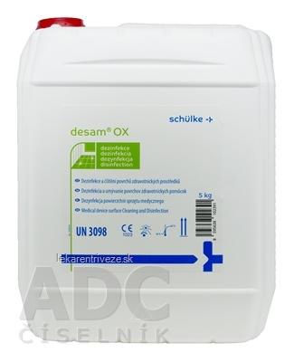 Desam OX dezinfekčný prostriedok 1x5 kg