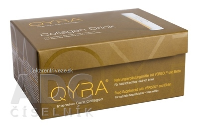 QYRA Intensive Care Collagen ampulky na pitie (á 25 ml) 1x21 ks
