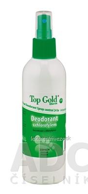 TOP GOLD Deodorant s chlorofylom+Tea Tree Oil sprej 1x150 g