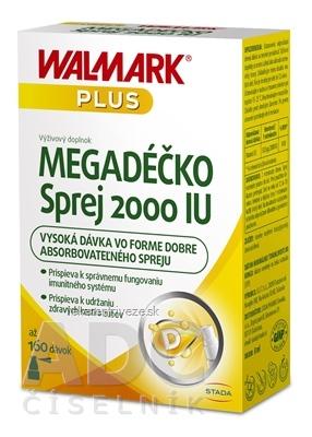 WALMARK MEGADÉČKO Sprej 2000 IU 1x8 ml