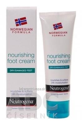 NEUTROGENA NR Výživný krém na nohy 1x50 ml