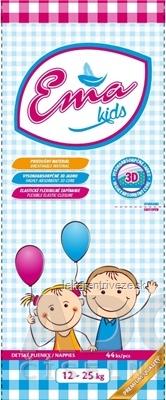 Ema Kids detské plienky (12-25 kg) savosť 1040 ml, 1x44 ks