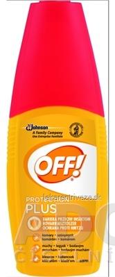OFF! PROTECTION PLUS rozprašovač repelent 1x100 ml