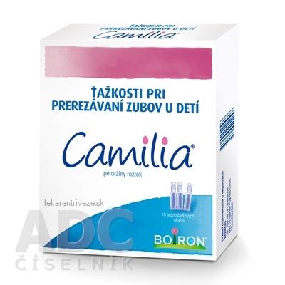 CAMILIA sol por (obal LDPE jednodáv.) 30x1 ml
