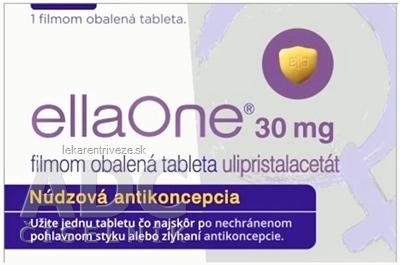 ellaOne 30 mg filmom obalená tableta tbl flm (blis.PVC/PVDC/Al) 1x1 ks