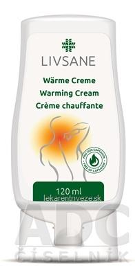 LIVSANE Hrejivá masť (Warming cream) 1x120 ml