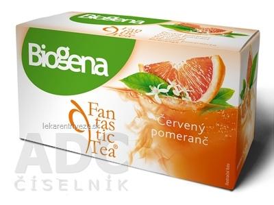 Biogena Fantastic Tea Červený pomaranč ovocný čaj 20x2,2 g (44 g)
