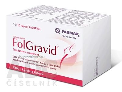 FARMAX FolGravid cps mol 30 ks+10 ks zadarmo (40 ks)