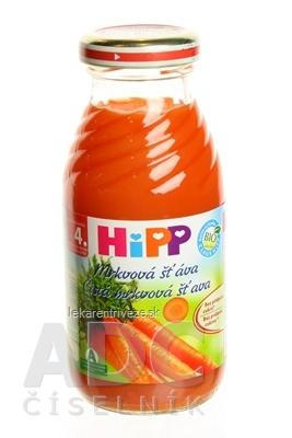 HiPP Šťava mrkvová (od ukonč. 4. mesiaca) 1x200 ml