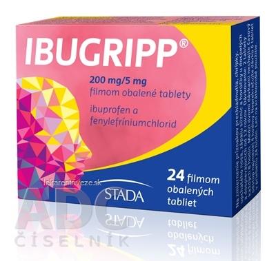 IBUGRIPP tbl flm 200 mg/5 mg (blis.PVC/PE/PVDC) 1x24 ks