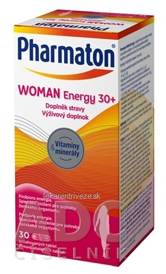 Pharmaton WOMAN Energy 30+ tbl 1x30 ks