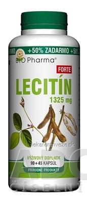BIO Pharma Lecitín Forte 1325 mg cps 90+45 (50% ZADARMO) (135 ks)