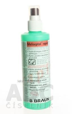 B.BRAUN MELISEPTOL RAPID SPRAY dezinfekčný prostriedok 1x250 ml