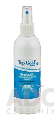 TOP GOLD Deo sprej do obuvi (na nohy) antimikrobiálny 1x150 g