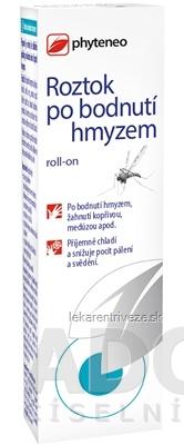 Phyteneo Roztok po bodnutí hmyzom roll-on 1x10 ml