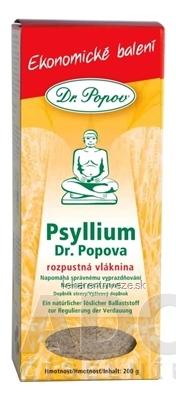 DR. POPOV PSYLLIUM rozpustná vláknina 1x200 g