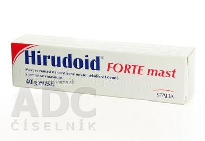 HIRUDOID FORTE ung der 1x40 g