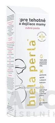Biela perla Pre tehotné a dojčiace mamy zubná pasta 1x75 ml