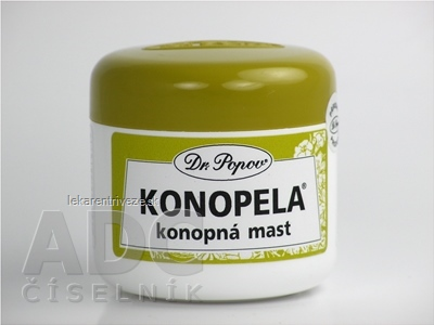DR. POPOV KONOPELA konopná masť 1x50 ml