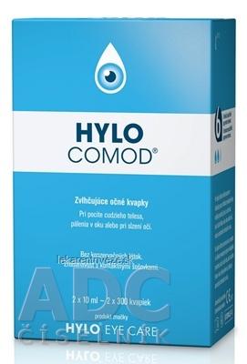 HYLO COMOD zvlhčujúce očné kvapky 2x10 ml