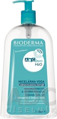 BIODERMA ABCDerm H2O micelárna čistiaca voda 1x1 l