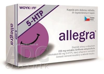 allegra 5-HTP cps 1x30 ks