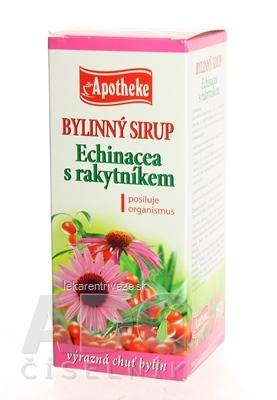 APOTHEKE BYLINNÝ SIRUP ECHINACEA S RAKYTNÍKOM 1x320 g