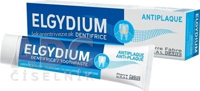 ELGYDIUM ANTI-PLAQUE zubná pasta 1x75 ml