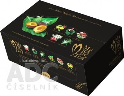 Biogena Majestic Tea MAXI kolekcia čajov: 6 druhov po 10 nálevových vrecúšok 1x60 ks (135 g)
