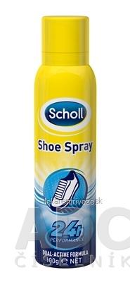 Scholl SHOE Deodorant Sprej do topánok Dual-Activ formula, 24h, 1x150 ml