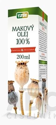 VIRDE MAKOVÝ OLEJ 100% 1x200 ml