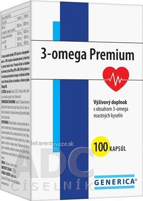 GENERICA 3-omega Premium cps 1x100 ks