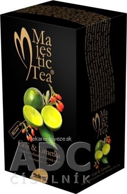 Biogena Majestic Tea Goji & Limetka ovocno-bylinná zmes 20x2,5 g (50 g)