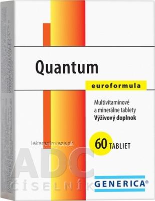 GENERICA Quantum Euroformula tbl 1x60 ks