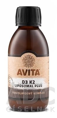 AVITA D3 K2 LIPOSOMAL PLUS fosfolipidový komplex 1x200 ml