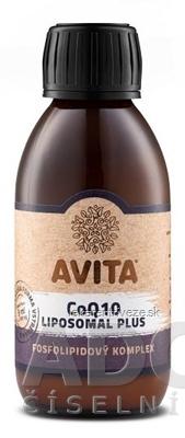 AVITA CoQ10 LIPOSOMAL Plus roztok, fosfolipidový komplex 1x150 ml