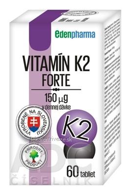 EDENPharma VITAMÍN K2 Forte tbl 1x60 ks