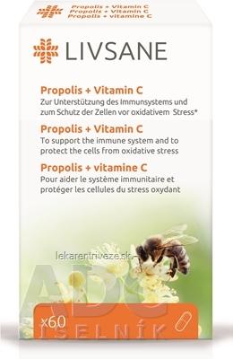 LIVSANE Propolis + Vitamín C cps 1x60 ks