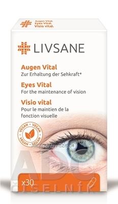 LIVSANE Podpora pre zdravé oči cps 1x30 ks
